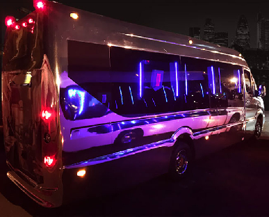 Party Bus Hire in Cardiff