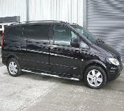 Mercedes Viano Hire in Cardiff